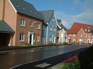 Mastic Application on Housing Estate Sites